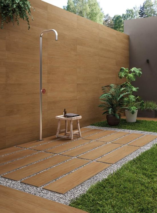 Chicwood Coco - Carrelage effet bois 30x120 cm, épaisseur 20 mm