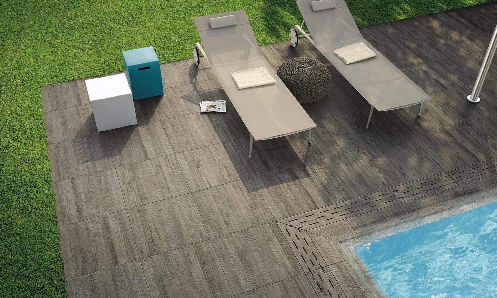 Carrelage Imitation Parquet 30X60 carrelage forte épaisseur pour terrasse | terrasse & co