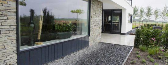 Black Slate Schiste 15 à 90 mm - Gravillons en forme de pétales très résistants