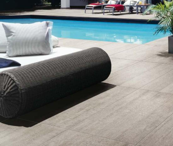 Busker Grey - Carrelage imitation ciment pour un rendu contemporain ou industriel