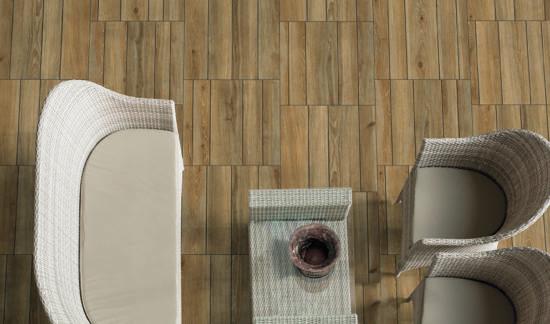 Woodbreak Oak - Dalles 60x60 imitation bois