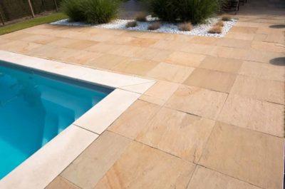 Garda Gold – Dallage idéale pour les allées et bords de piscine