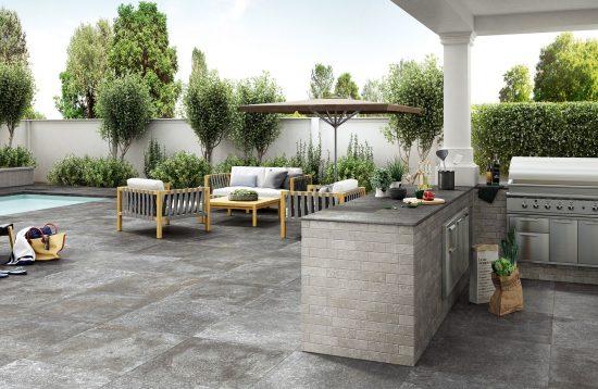 Kingstone Silver - Transformez votre terrasse graçe à cette collection aux superbes détails