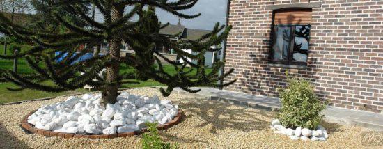 Galet Blanc Carrare Marbre - Idéal pour illuminer et valoriser les différents espaces de vos extérieurs. Disponible de 4 à 40 cm