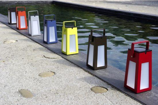 Tinka - Lanternes idéales pour colorer vos extérieurs : terrasses, piscines, allées de jardin...