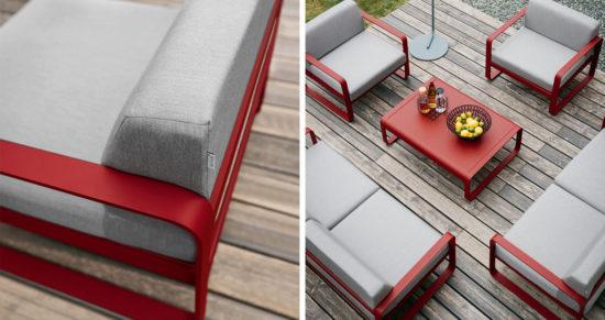 Bellevie - Salon de jardin en aluminium, très résistant. Colore vos extérieurs